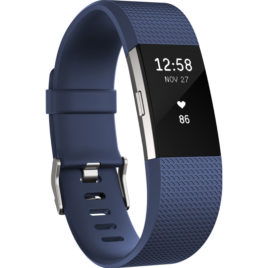 Fitbit Charge 2 Blue/Silver – L