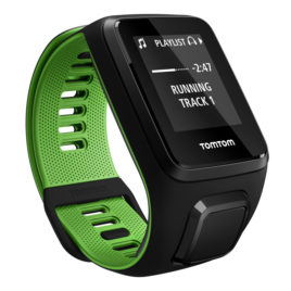 TomTom Runner 3 Cardio + Music Black/Green – L