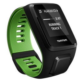 TomTom Runner 3 Cardio + Music Black/Green – S