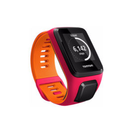 TomTom Runner 3 Cardio Dark Pink/Orange – S