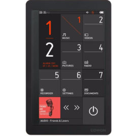 Cowon X9 16GB Zwart