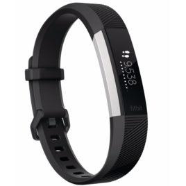 Fitbit Alta HR Zwart – L