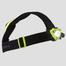 Kalenji Hoofdlamp voor trail Onnight 410 zwart geel – 160 lumen