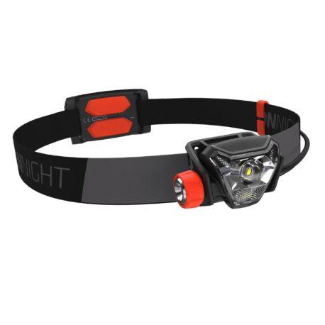 Hoofdlamp-voor-trail-Onnight-710-zwart-oranje-300-lumen-1052980