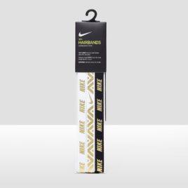 Metallic Hairbands 3-Pack – White/Black